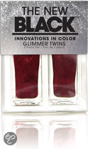 The New Black Glimmer Twins - Crimson - Nagellak