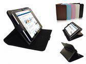 Beschermhoes  -  Samsung Galaxy Tab 7.0 Plus  - Multi-stand Case - Kleur Wit