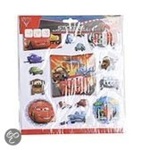 Disney Stickervel bol 20.5x20.5 cm cars