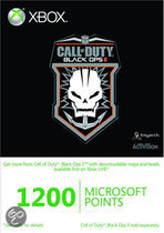 Foto van Microsoft Xbox Live 1200 Microsoft Punten Call Of Duty: Black Ops 2 Xbox 360