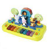 Imaginarium Babymusic Piano - Kinderpiano met licht en geluid boerderij