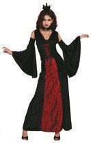 Vamp Fatale - Kostuum - Maat 36/38 - Zwart