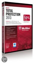 McAfee Total Protection 2013 - 3 Gebruikers / Nederlands / WIN / Half Price DVD Promo