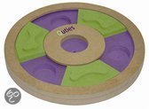 Iquties Treat Wheel Hondenspel 25x25x3 cm