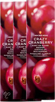 Dr van der Hoog Crazy Cranberry - Gezichtsmasker - 3 stuks - Voordeelverpakking
