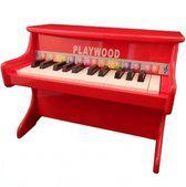 Playwood Rode Piano