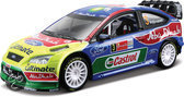 Bburago Ford Focus 2010 #3 Abu Dhabi World Rally Team