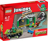 LEGO Juniors Turtles Hoofdkwartier - 10669