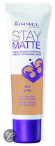 Rimmel London Stay Matte Liquid Foundation - 300 Sand - Foundation