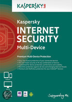 Kaspersky Internet Security Multi-Device 2014 Benelux 3 User 1 Year DVD