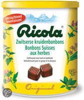 Ricola Zwitserse Kruidenbonbons Original Blik 250 g