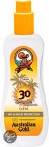 Australian Gold  Spray Gel - SPF 30+ - Zonnebrand spray