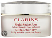Clarins Multi-Active Day Early Wrinkle Correction Cream All Skin Types - 50 ml - Dagcrème
