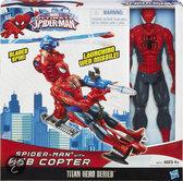 Titan Hero - Spider-Man met Web Copter