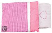 Beddengoed voor Poppenwagen - Roze