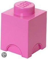 Lego Friends Opbergbox - Brick 1 - 12,5 x 12,5 x 18 cm - 1,2 l - Pink