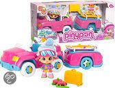 Pinypon Auto met Aanhanger