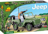 Cobi Small Army Jeep Willys MB with Machine Gun - 24112