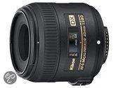 Nikon AF-S 40mm - f/2.8G Micro DX - macro lens