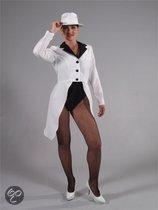 Witte slipjas voor dames Xl (48-50)