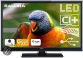 Salora LED2480CAH - Led-tv - 24 inch - HD-ready - Zwart