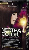 Schwarzkopf Nectra Color 468 Chocoladebruin - Haarkleuring