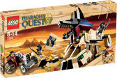 LEGO Pharaoh's Quest De Sfinx Herrezen - 7326