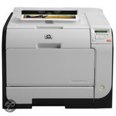 HP CE956A LaserJet Pro 400 Color M451nw Printer - Zwart / Wit
