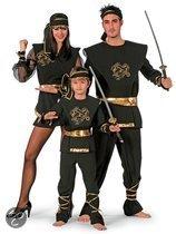 Carnavalskleding Ninja dragon kind Maat 152
