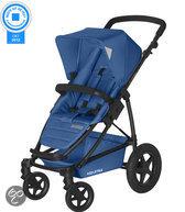 Koelstra Binque Daily - Kinderwagen inclusief Boodschappenmand - Cobalt Blauw
