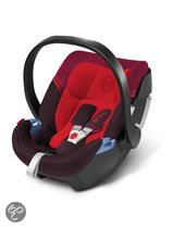 Cybex Aton 3 - Autostoel - Strawberry - dark red