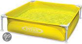 Mini frame Pool 122x122x30 cm - Geel
