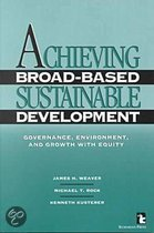 Achieving Broad-based Sustainable Development