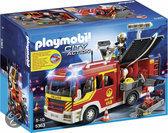 Playmobil Brandweer pompwagen met licht en sirene  - 5363
