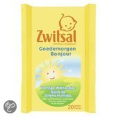 Zwitsal - Goedemorgen Vochtige Washandjes - 20 st