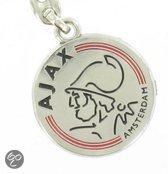 Ajax Sleutelhanger - Logo - Zilver
