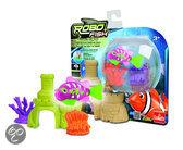 Robo Fish + 2coral + castle
