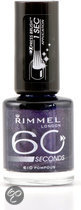 Rimmel London 60 seconds Finish Nailpolish - 610 Pompous - Nagellak