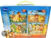 Disney Lion King puzzels set van vier