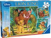 Ravensburger 3 in 1 Puzzel - De Leeuwenkoning: Simba, de Kleine Koning