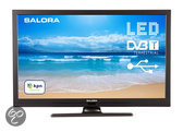 Salora 22LED8000T- Led-tv - 22 inch - Full HD - Zwart