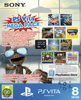 Foto van PlayStation Vita 8GB Memory Card + 10 Games Download Voucher