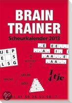 Scheurkalender 2013 Brain Trainer
