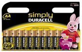 Duracell Simply                  AA 12er