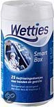 Wetties Verfrissingsdoekjes Aqua Smart Box