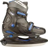 Nijdam Junior IJshockeyschaatsen Verstelbaar - Hardboot - Maat 30-33