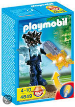 Playmobil Templewachter met Oranje Lichtgevend Wapen - 4849