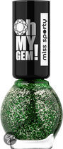 Miss sporty Oh My Gem! - 005 Groen - Nagellak