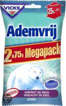 Vicks Ademvrij - 150 gr - Suikervrije Keeltabletten