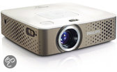 Philips PicoPix 3410 - Mini beamer/projector - WVGA - 100 ANSI-lumen - Wit